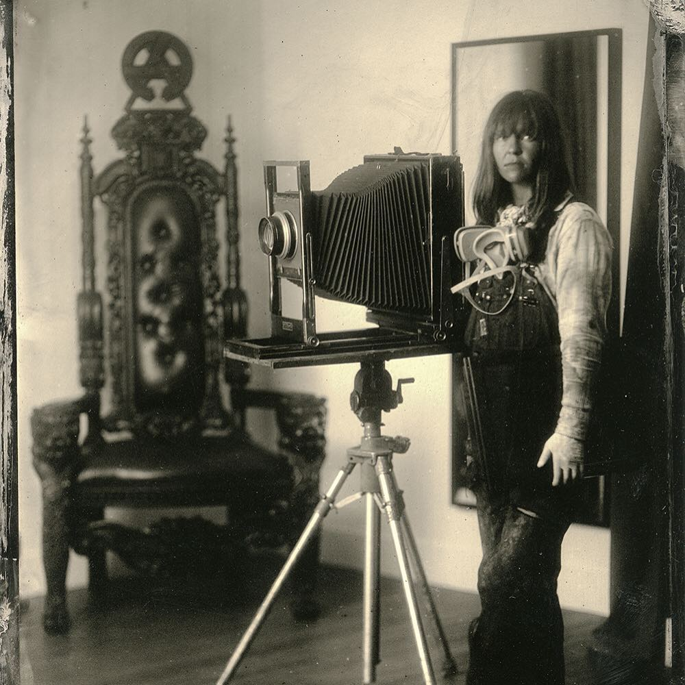 Come get old timey with us! @thealchemistress is bringing her vintage cameras and processes to the gallery August 6-8. Get a tin type taken and watch this talented lady demonstrate the alchemy of photography as it once was. Read more about it and book...