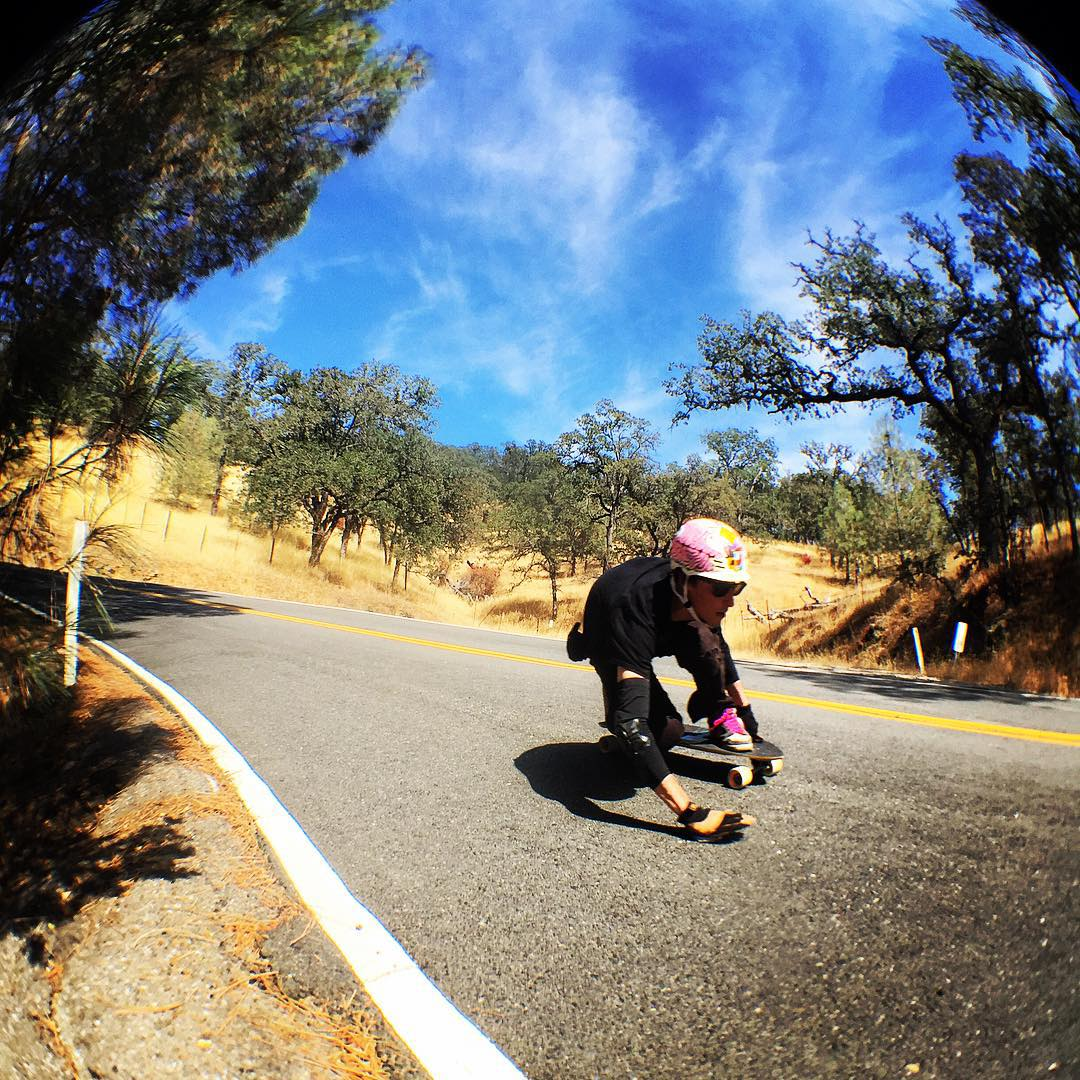 Team rider Chad Lybrand--@ragnars_world  Bonzing on the MC Cat board!  #chadlybrand #mccatboard #bonzing #california
