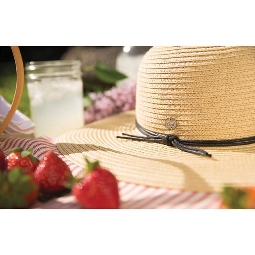 What goes well with strawberries and lemonade? Women's hats of course! Don't let too much sun, ruin the fun. #coalheadwear #summer