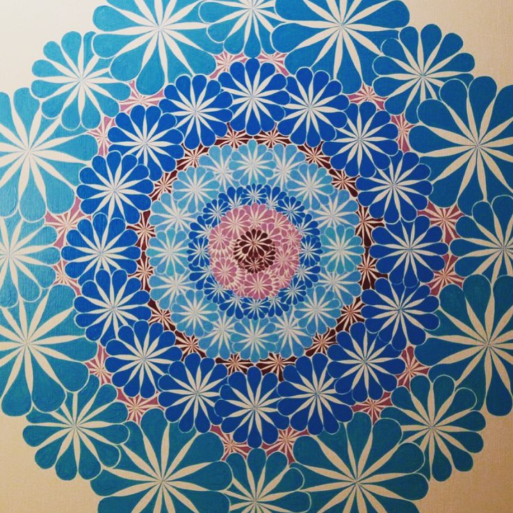 Sketchpad inspiration: Monday mandala magic by @cliffdwell #AllSwell
