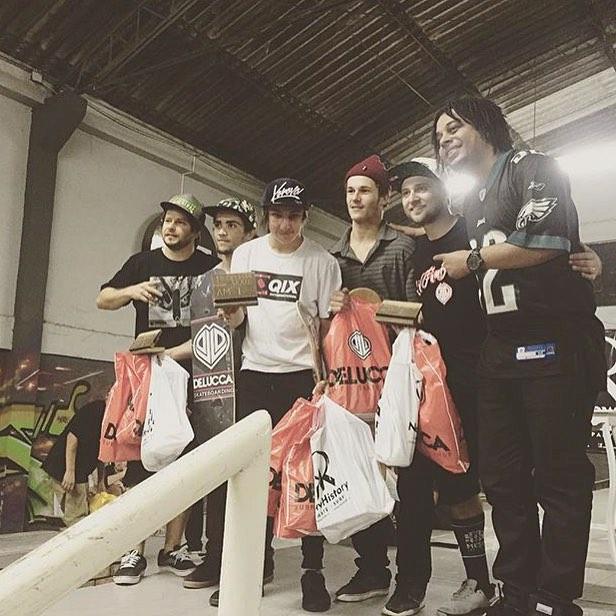 @luiznetosk8 venceu campeonato no @qgskatebrasil que rolou neste domingo (02 de agosto). Parabéns Luiz!!! #qixteam #qix #skate #skateboard #qgskate #Brasil #skateboarding #campeonato #skateboardminhavida