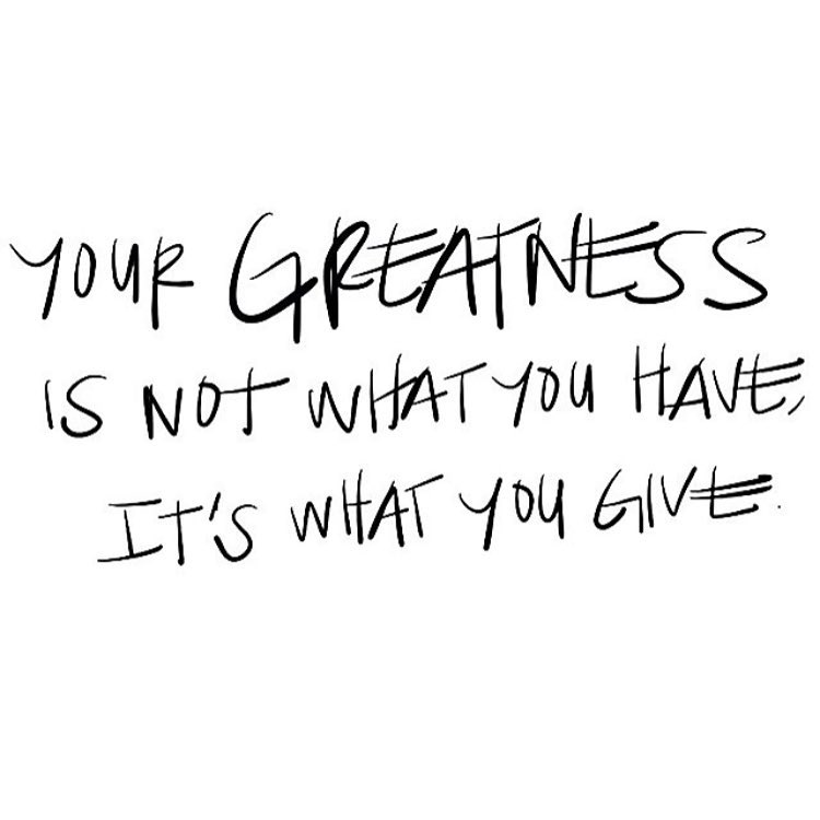 Happy #Monday! Give the world a little greatness today.  #mondaymotivation #mondaymantra