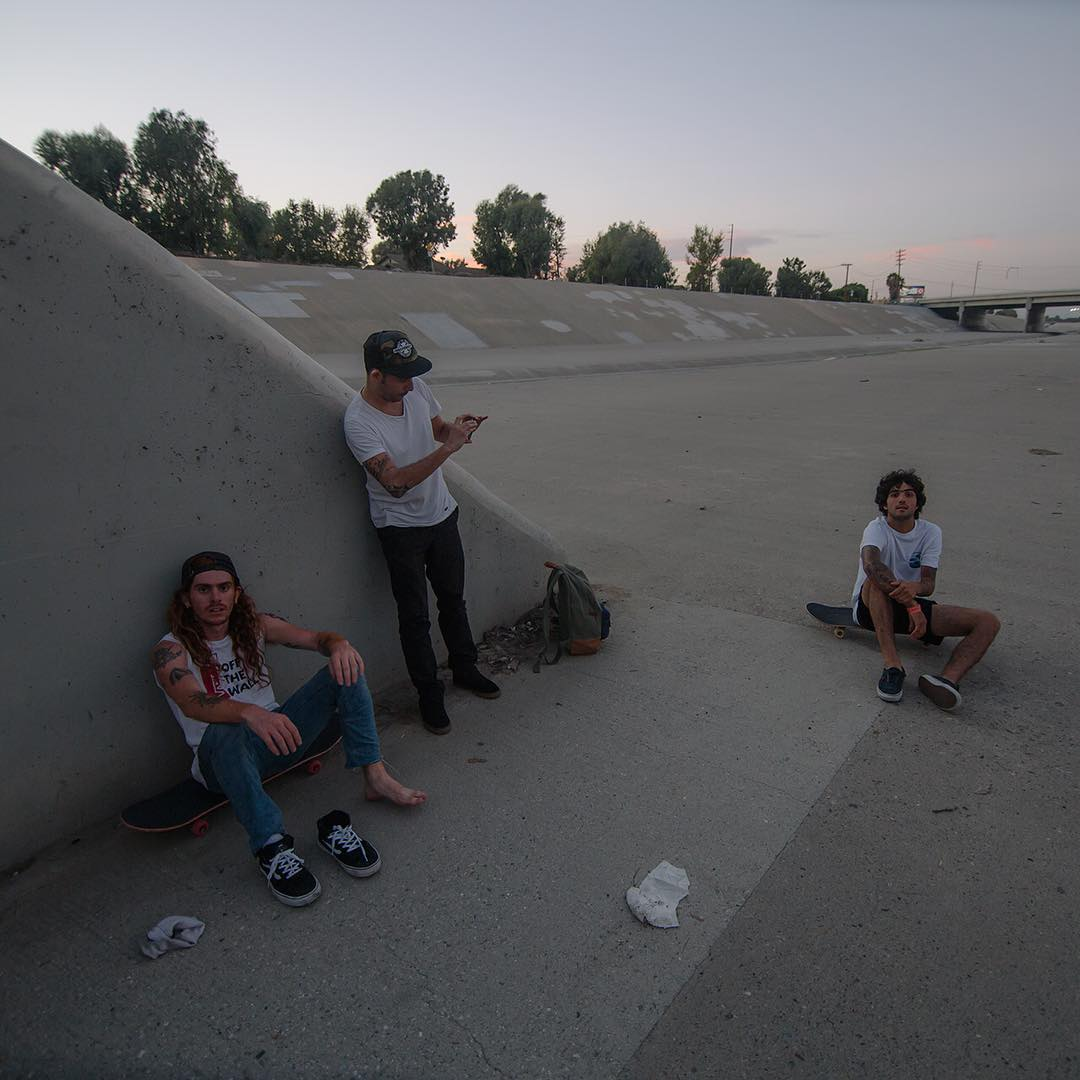 No nos podíamos ir sin antes pasar por este clásico spot californiano. #ditch #vansskate