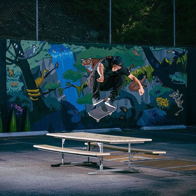 @carlosribeiro91 's new part for @primitiveskate just dropped on the @berrics It's as crazy as you'd expect.