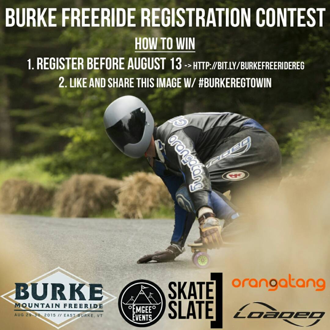 Want to go to an event unlike any other? The Burke Mountain Freeride is coming at you with 2 days of fast as funk freeriding on one of the most technical roads on the eastern seaboard!  Here's how your gonna win, because youre gonna! 1. Double tap this...