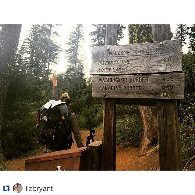 Congrats to our #PCT friends as they cross into Oregon! Only two states to go! We're sure it'll seem short compared to Cali