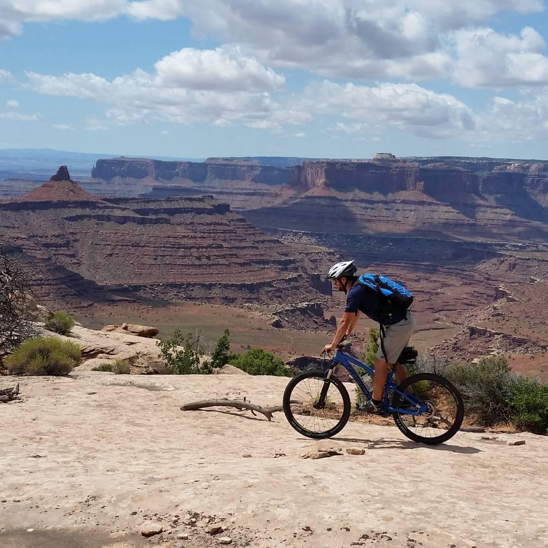 Mountain biking in the desert! Awesome rides in Dead Horse!  #MTB #getoutdoors #adventure #utah #graniterocx