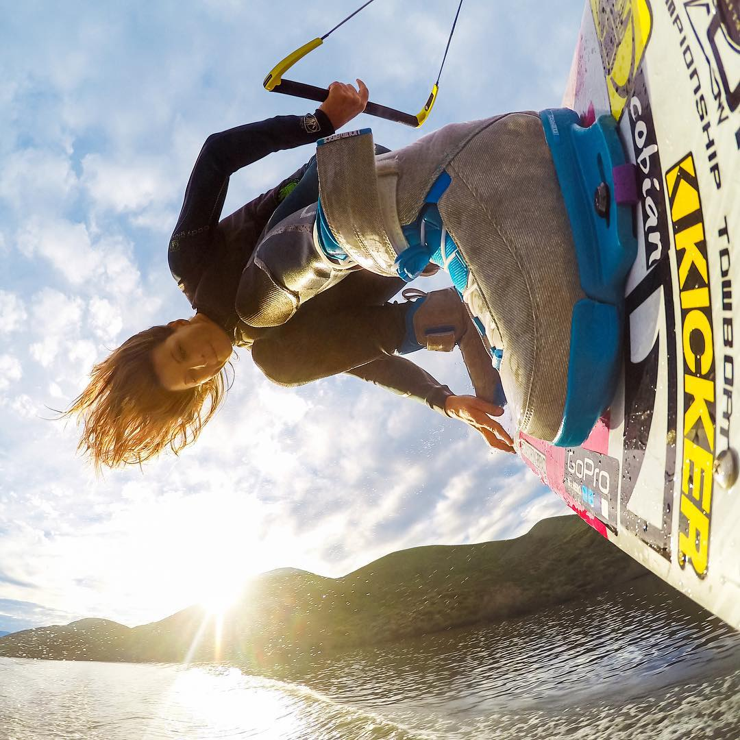"Anyone whose mantra is ""Peace, Love, Shred"" and must be a member of the #GoPro family. See what this lifestyle is all about by following @Melissa Marquardt & you'll have a chance to win a #HERO4Session!"
