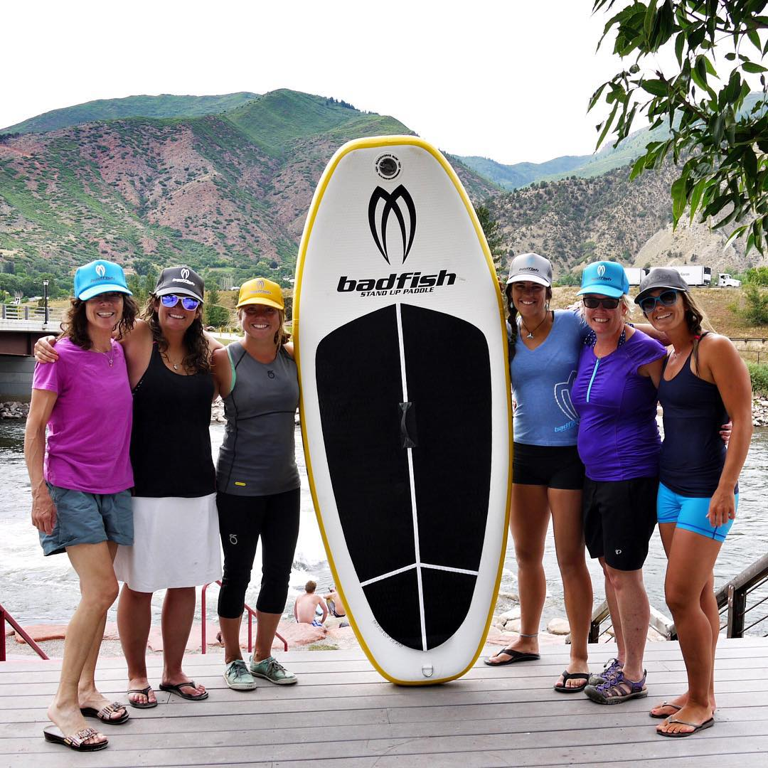 Thanks to all the ladies who came out to our clinic in Glenwood Springs! Now we have more women to paddle with in Colorado! YA! @jcuret @sehsa  Big shout out to our sponsors and friends for helping us make it happen! @badfishsup @boardworkssurfsup...