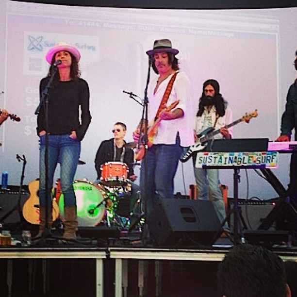 Huge thanks to Rami Jaffee for putting together the BitchN All-Star band for our Malibu beach party fundraiser last Tues night!  And special thanks to Minnie Driver for lending her sweet voice ( yep, she's got pipes folks) to the evening.  To see what...