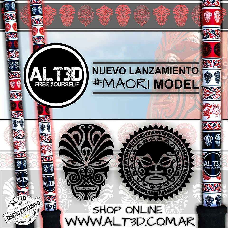 ESPECTACULAR PROMO LANZAMIENTO #MAORI MODEL, EXCLUSIVO @alt.3d !!!