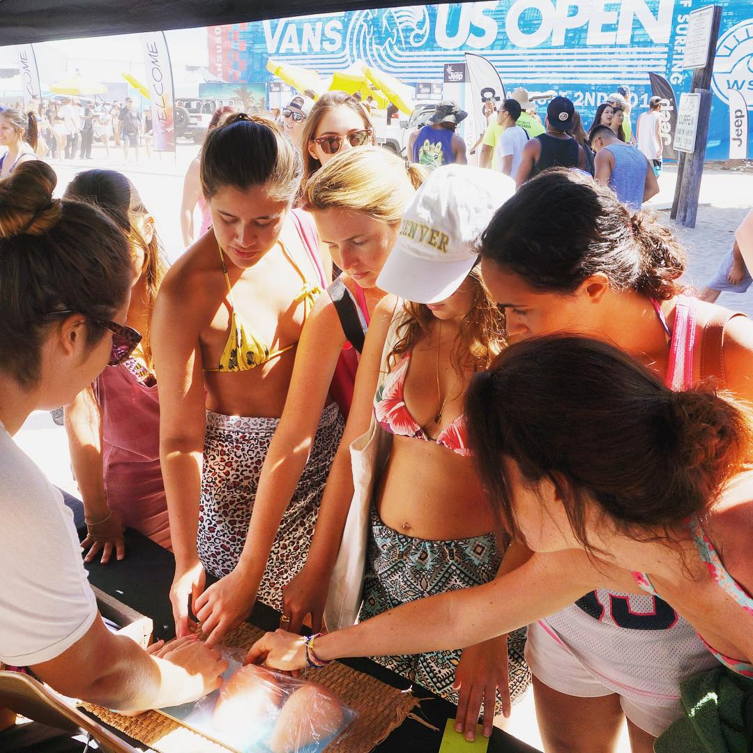 B4BC's educational outreach booth is on the road year-round, teaching young people how to prevent #breastcancer, how to perform a breast self-exam and what a cancerous lump feels like.  We just wrapped a week of outreach at the #VansUSOpen teaching...