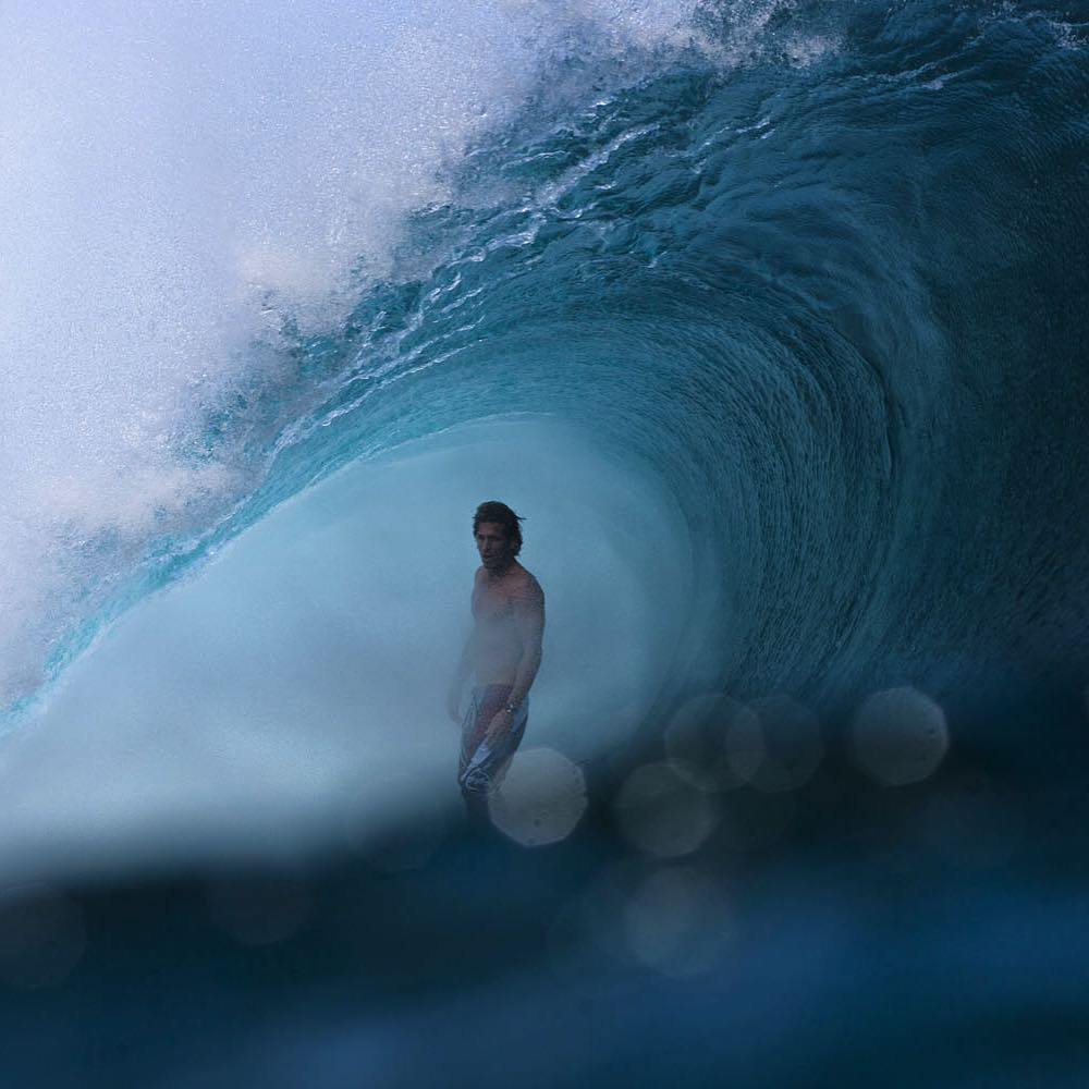 Andy Irons' surfing at Teahupoo was pure mastery, and the #BillabongProTahiti was an event where he put on countless clinics. #AIForever