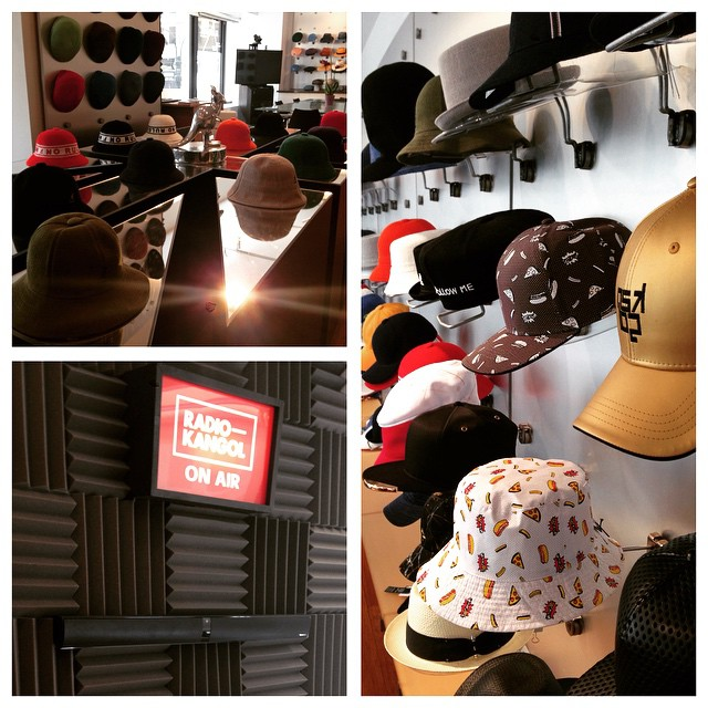 The #kangol NYC showroom is ready to kill it with our new SS16 collection! #marketweek #radiokangol