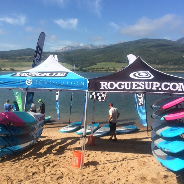 POSTED up at Outdoor Retailer Demo Day. Come check it out and try out any Rogue board! #OR2015 #outdoorretailer #demo