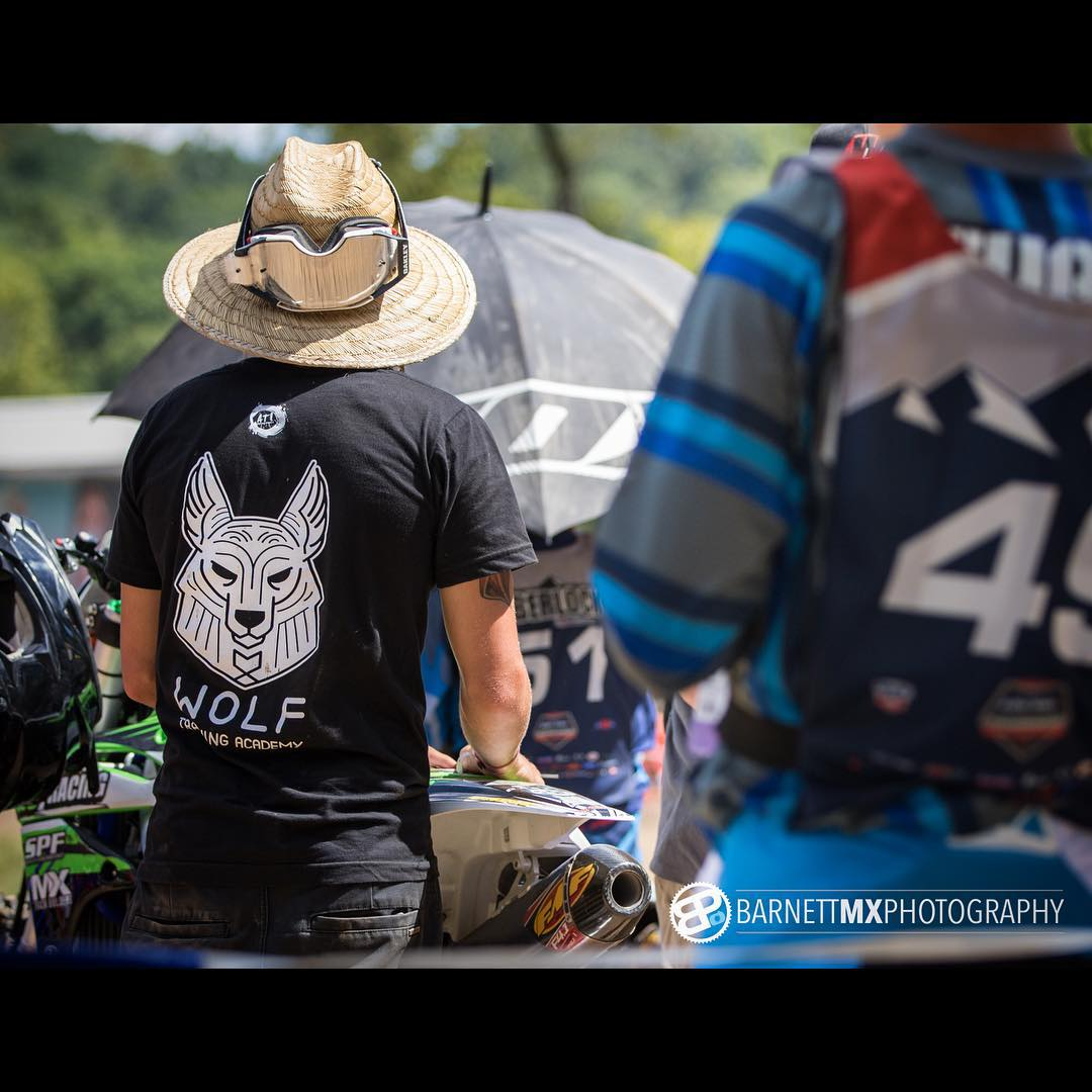 Lorettas was sick!! @graysonstuart149 Also got some sick shirts printed thanks to @aticlothing #wolfmx #atifamily #moto #ll15 #lorettalynnsmx @lorettalynnmx #motocross @ride100percent @barnettmxphotography #barnettmxphotography