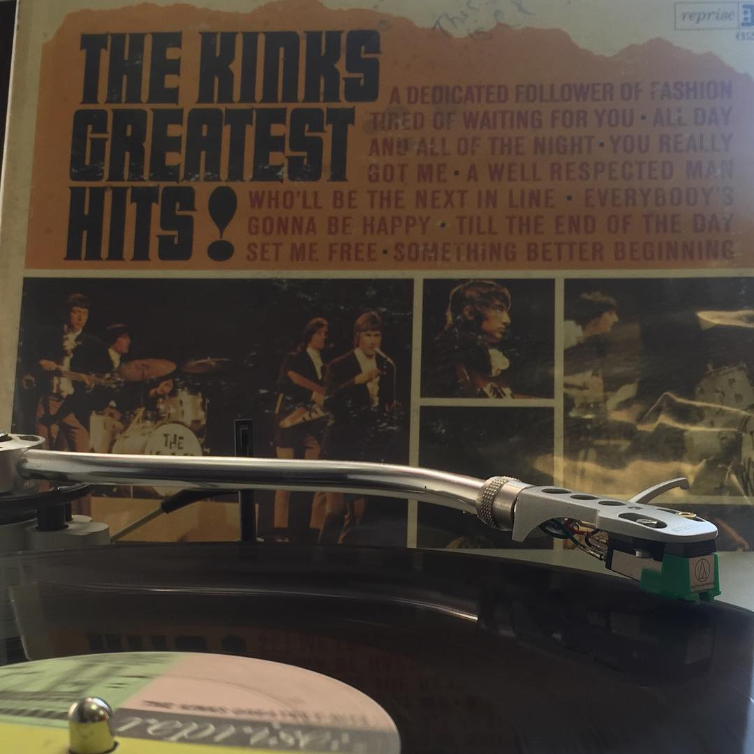 Baby, we feel good, from the moment we rise. Feel good from morning till end of the day... #TheKinks #GreatestHits! #TurntableTuesday