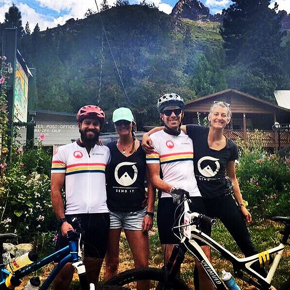Awesome crew Sending It at the Downieville Classic this weekend - you guys rock! #sendit #senditfoundation #stantonthemanton @sarashirleyjean