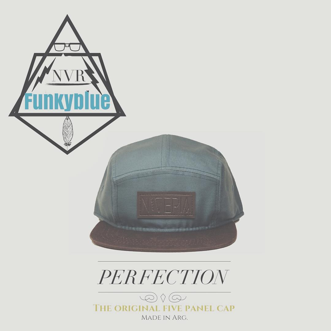 ⚡️Funkyblue⚡️ #NVR #new #fivepanel #cap #gorra #perfection #VSCOcam #newconcept #elhastagquemasteguste Porque Niveria lo usas vos!
