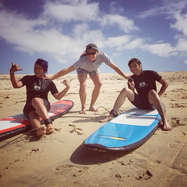 Good times, great day! #surf #surfer #surfboard #surfing #surfergirl #surfsup #waves #water #ocean #beach #confidence #shred #ride #youth #lifeskills #mentor #volunteer #motivation #determination #success #inspire #community #makeadifference...