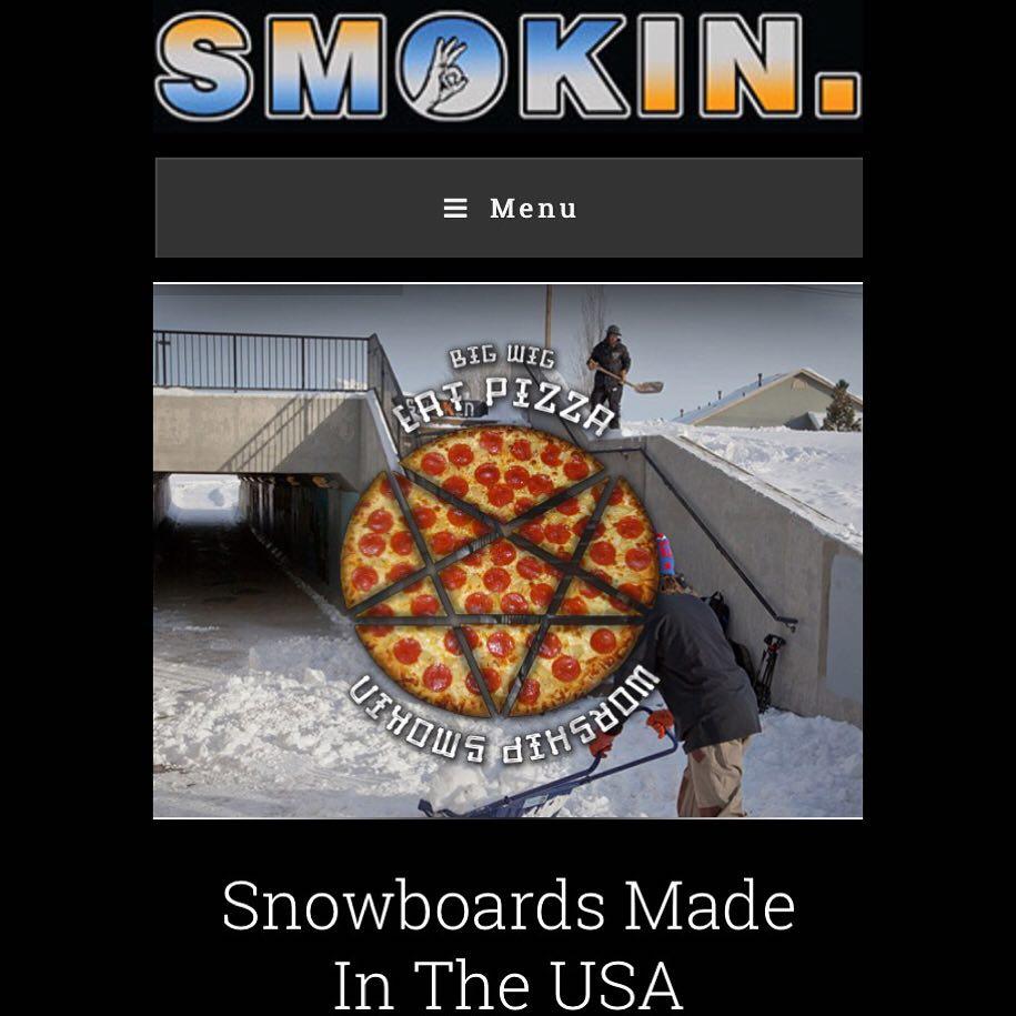 Our 2015/2016 website is live. www.smokinsnowboards.com  #weareOK | #ForRidersByRiders | #3yearwarranty | #handmadeUSA