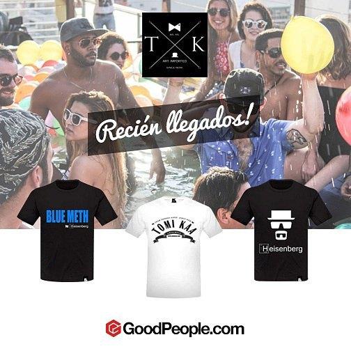 Nuestra nueva linea de remeras #heisenberg ! Disponibles en www.tomikaa.com y goodpeople.com #goodpeople #breakingbad #iamwachingyou #mascaza #bluemeth #streetwear #buenosaires #sudamerica #todavia5panellova