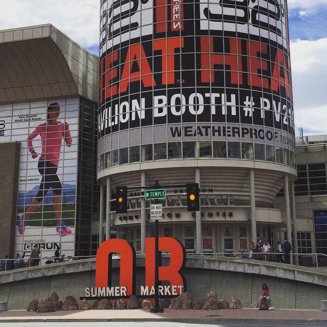 #ORshow Day 1!  So excited to be in Salt Lake City and catch up with our sponsors, supporters and partners in the outdoor industry!