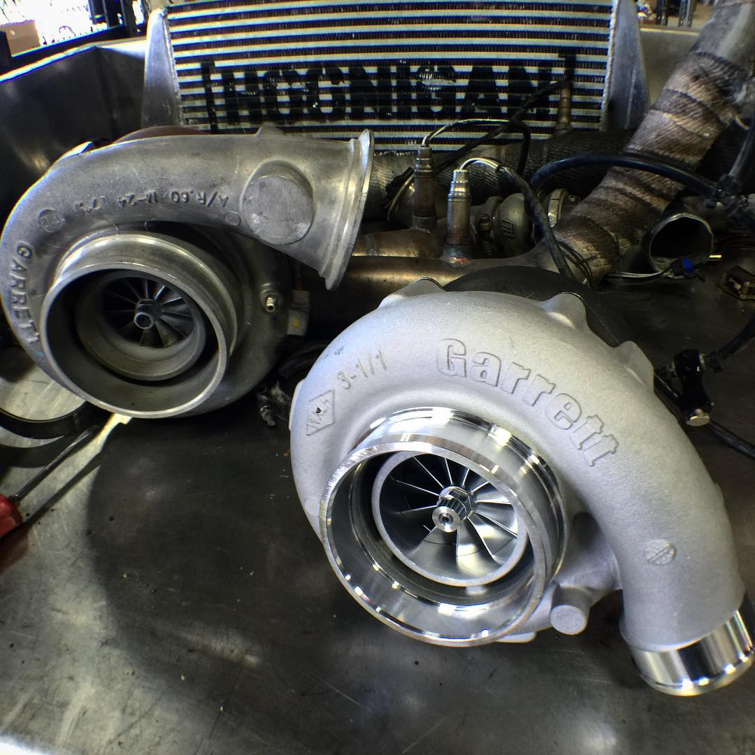 We heard rotary engines work better with two @turbobygarrett turbos. #boostislife #eightrotor
