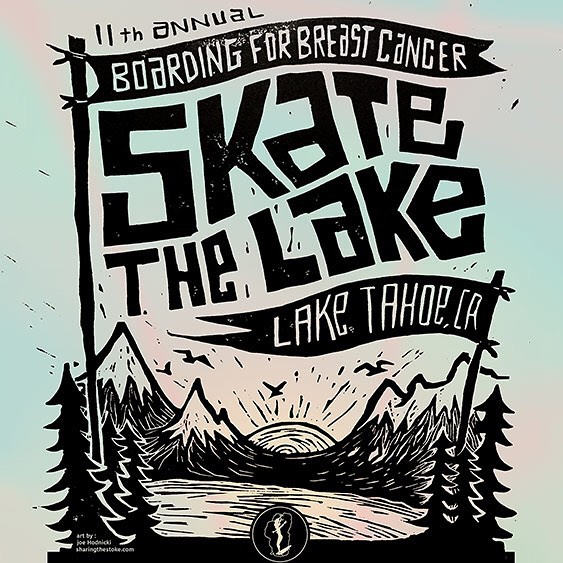 Have you signed up for B4BC's #SkateTheLake 28-mile skate-a-thon through Lake Tahoe, CA?  Sign up at www.classy.org/skatethelake2015 to register and fundraiser to win prizes from our amazing sponsors like @gopro, @sector9, @tahoelongboards, @nixon_now...