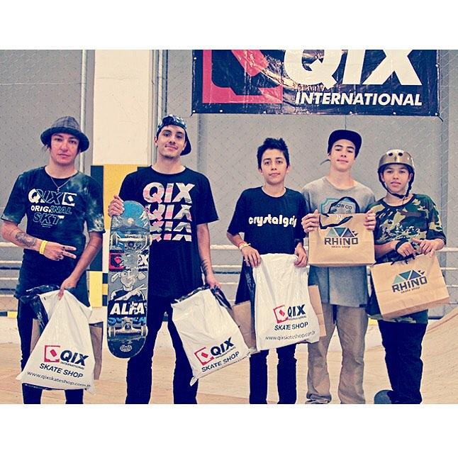 @luiznetosk8 fica em 3° no Best Trick realizado pela QIX e @rhinoskateshop em Florianópolis. Veja em www.qix.com.br  #qixteam #qix #skate #skateboard #skateboarding #skateboardminhavida