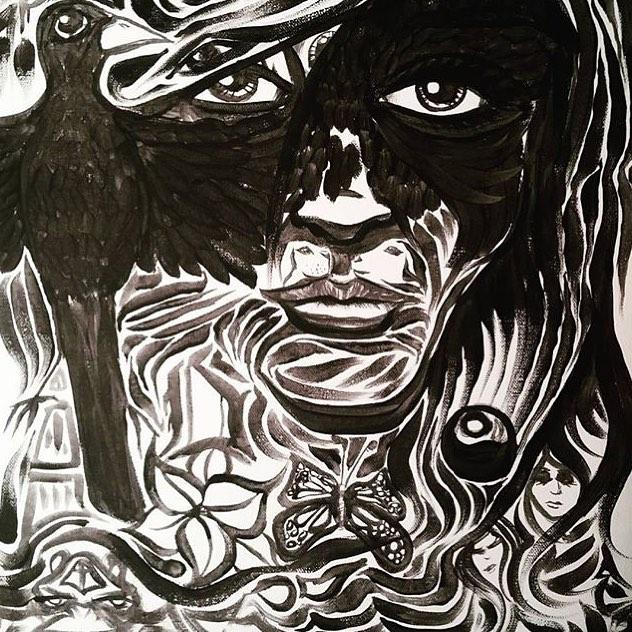 @oblucka.rockabald • • #ATX #austintx #texas #tx #spratx #art
