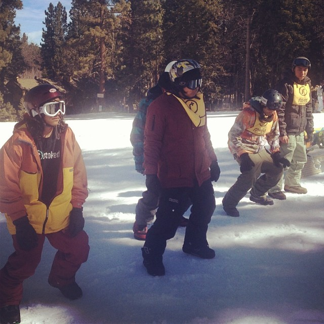 STOKED LA Snow Mentor 1! 43 youth are pumped for the first day of the season, 25 who have never seen snow before. Needless to say, we are STOKED! #stoked #stoked4life #actionempowers #snowboarding #snowsummit