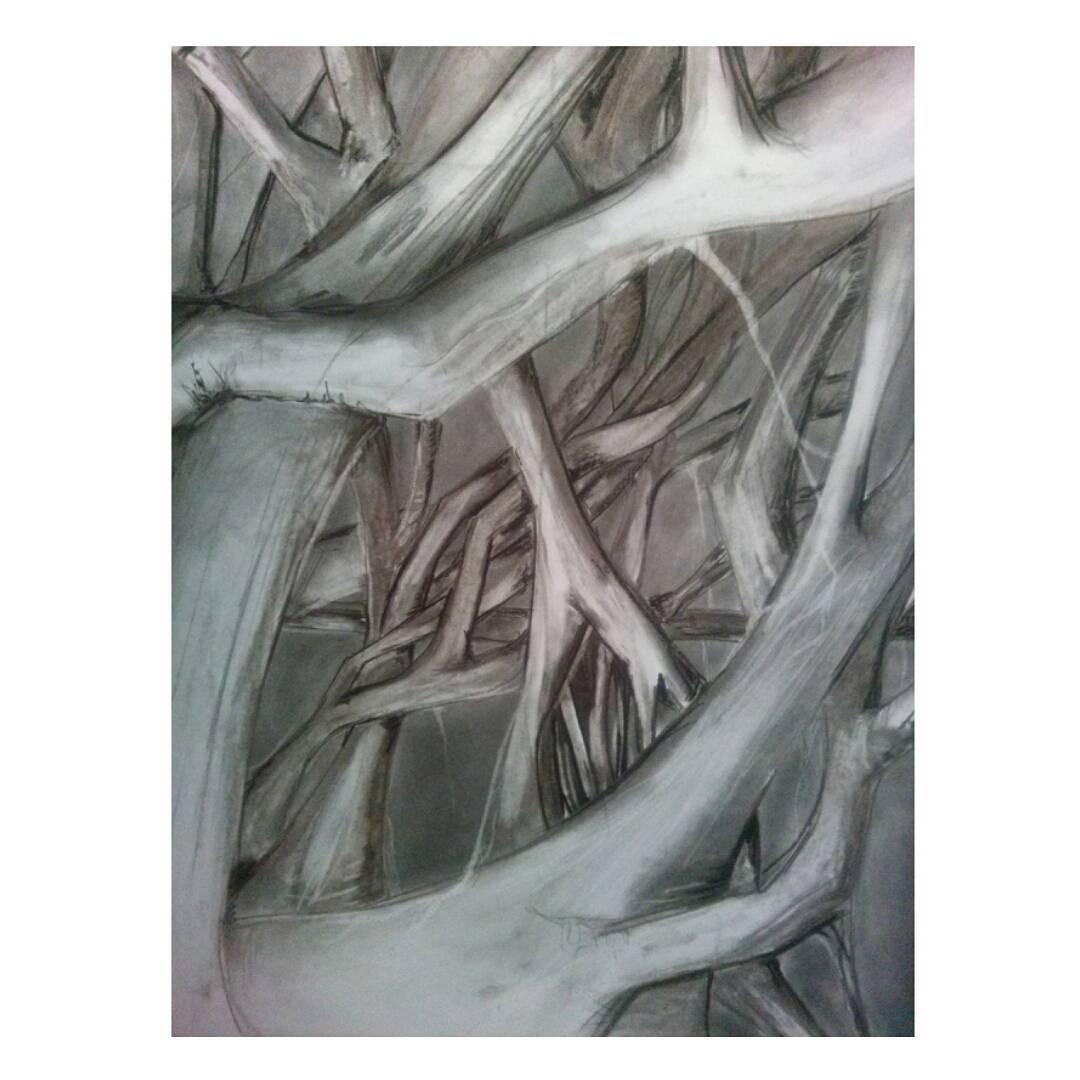 Detalle de lo nuevo. #dibujo #disegno #draw #drawing #arte #art #inprocess #blackandwhite #blancoynegro