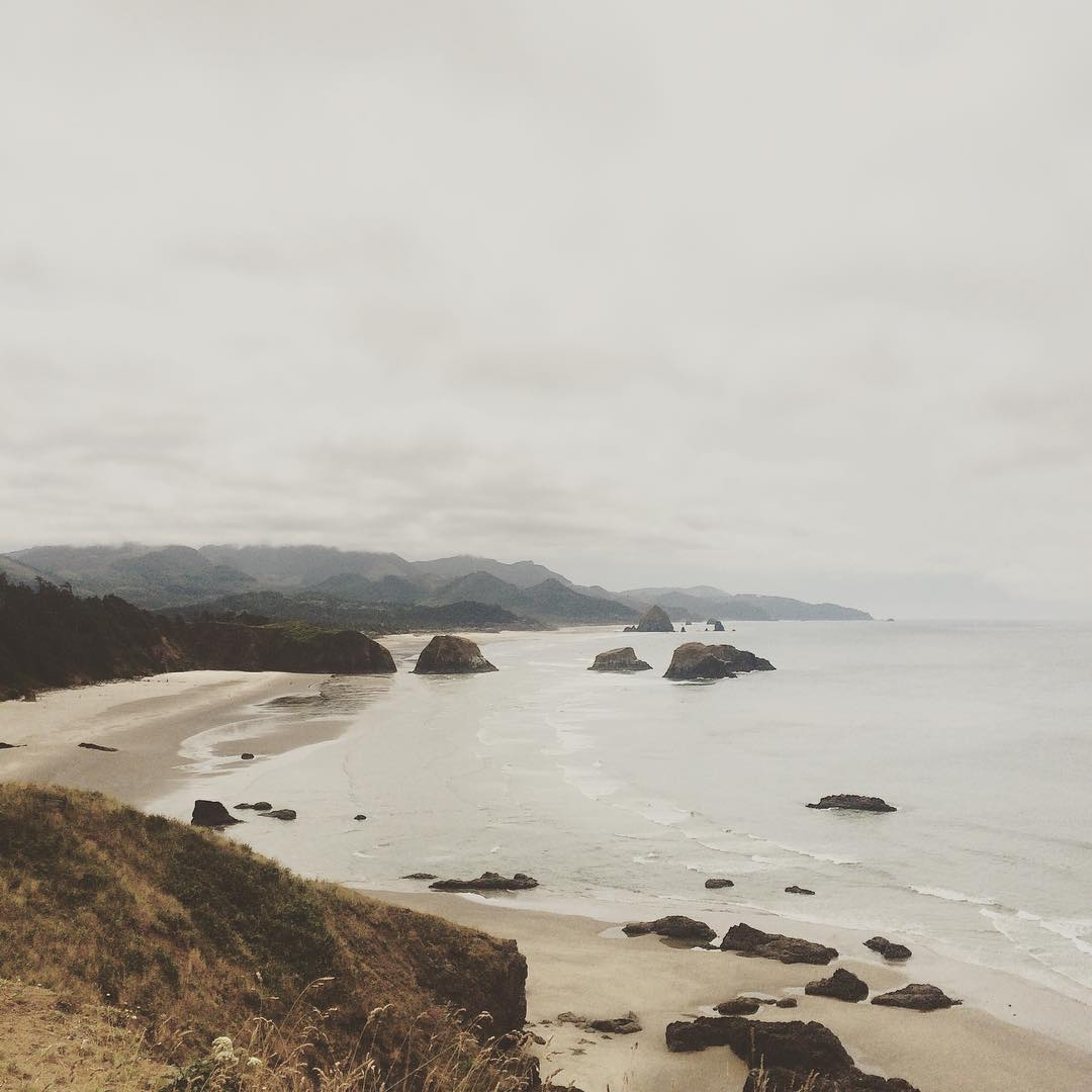 Driving the coast back to SF after some fun events in Seattle + Portland. #pacificnorthwest #travel #renegadecraftfair #connectglobally #estwst