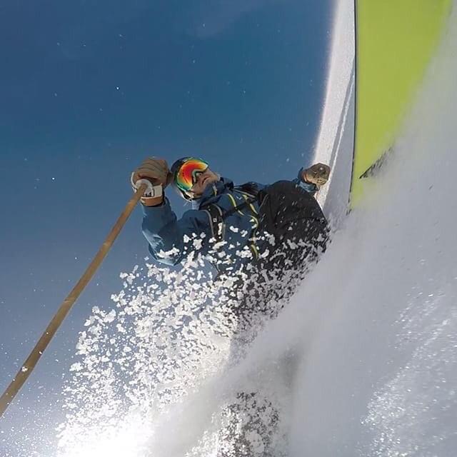 Skier: Mark Abma Photo: Mark Abma Location: Mark Abma Visionary: Mark Abma  #TribeUP Mark Abma!  Repost from @markabma  @solfeggiofoods  #PandaPoles #PandaTribe