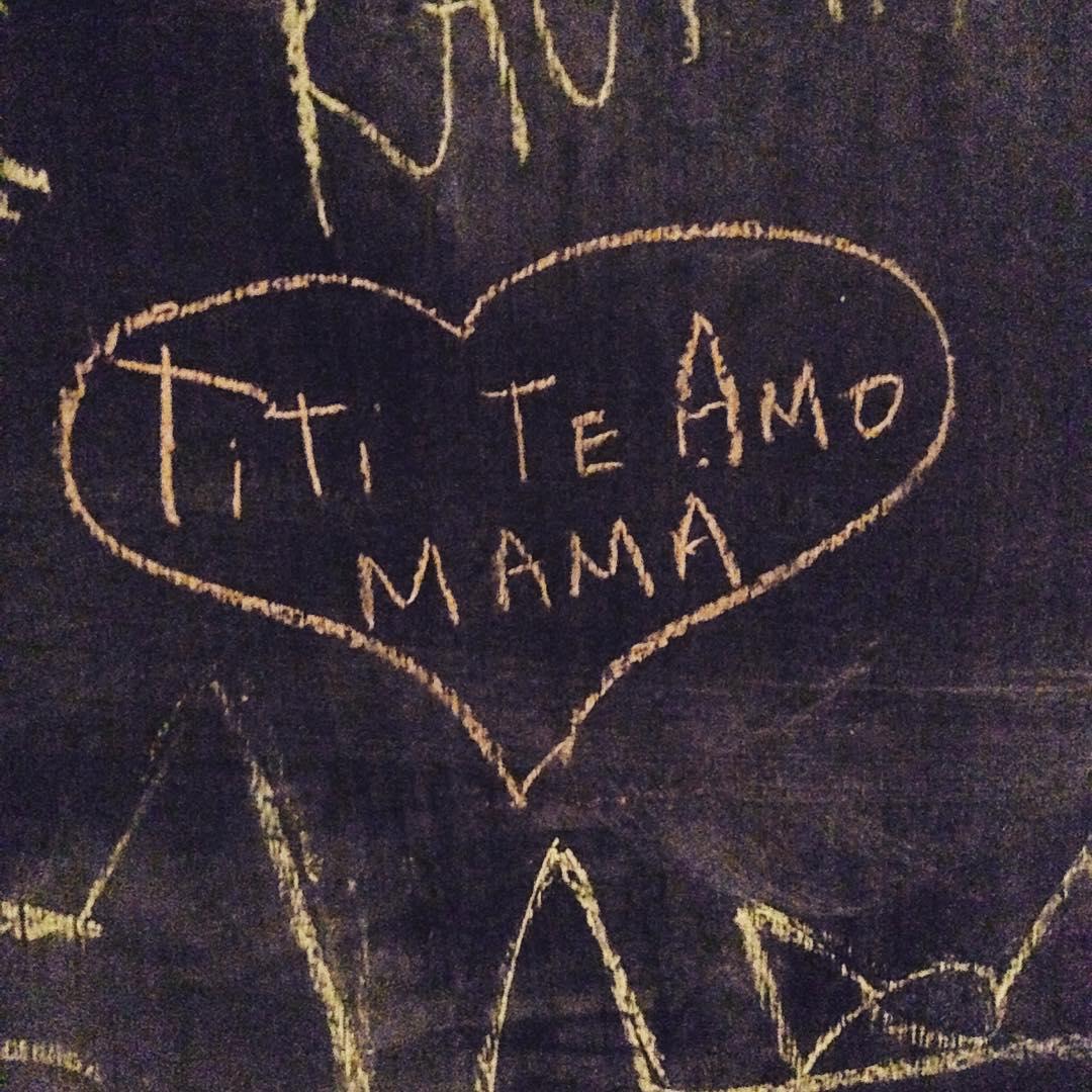 Mensajes en el pizarron, mama mia ❤️