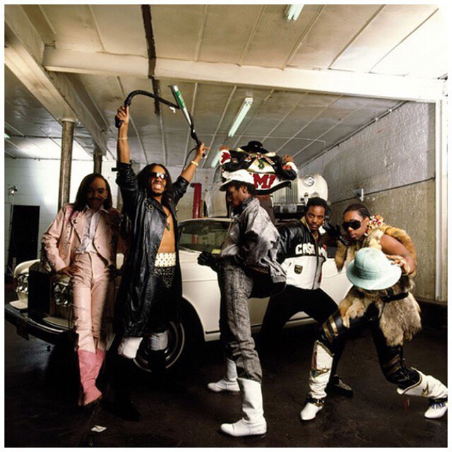 #TBT @djflash4eva and the Furious Five #kangol