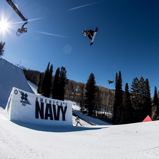 @jamieandersonsnow taking GOLD in Aspen and now Sochi! #xgames