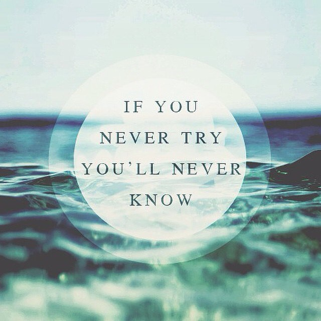 try new things... #surf #yoga #SUP #kite #travel #explore #crosstheocean source: @quotes