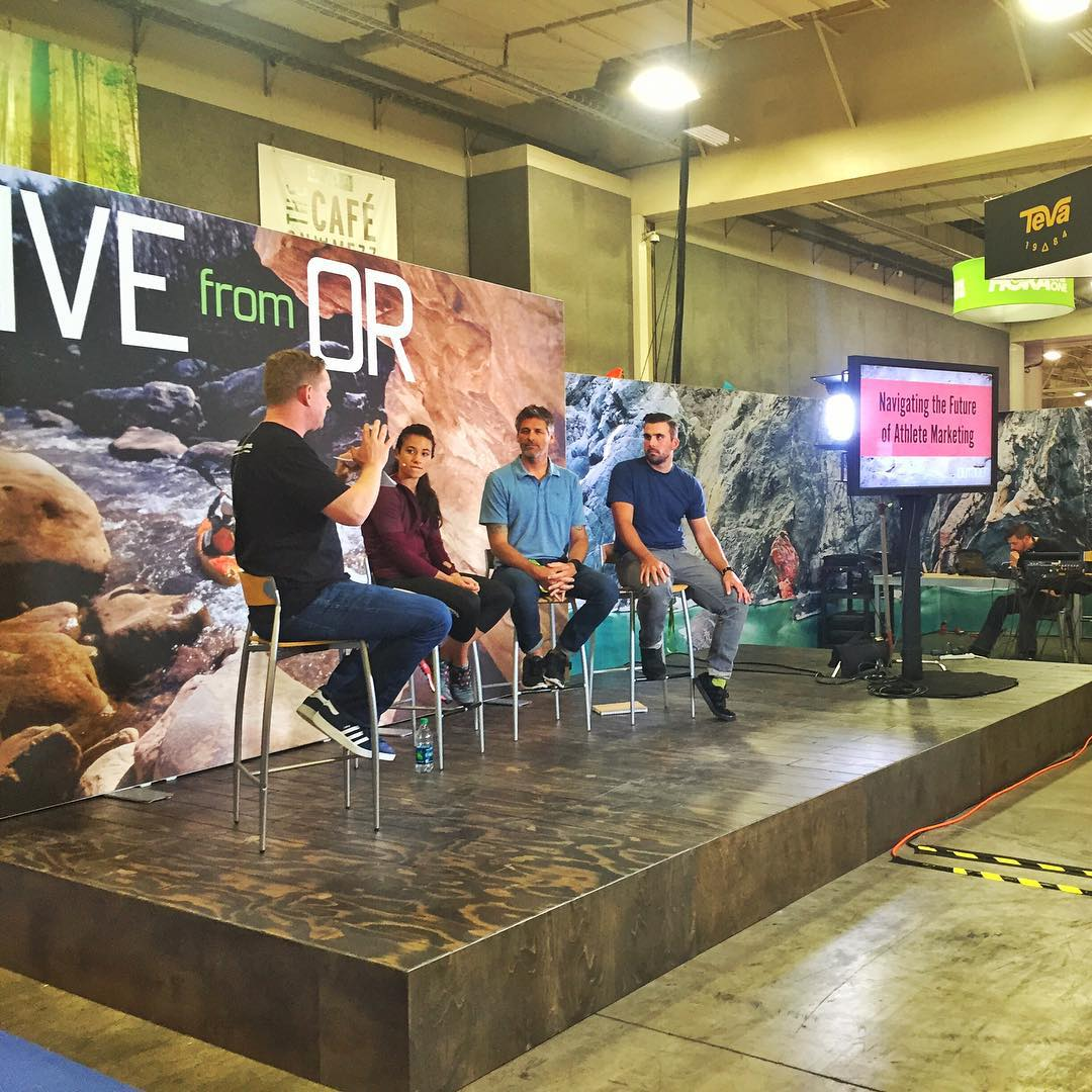 Live from @outdoorretailer || Navigating the Future of Athlete Marketing! @sheneenagins #jointhemovement #PHGB #ORshow