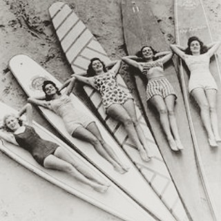 Babes and boards. Some things never change... #tbt #luvsurf #truelove #surf #babes