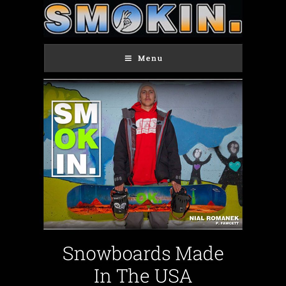Check the new @nial_romanek #anNIALlator www.smokinsnowboards.com  #weareOK | #handmadeUSA | #ForRidersByRiders | #3yearwarranty