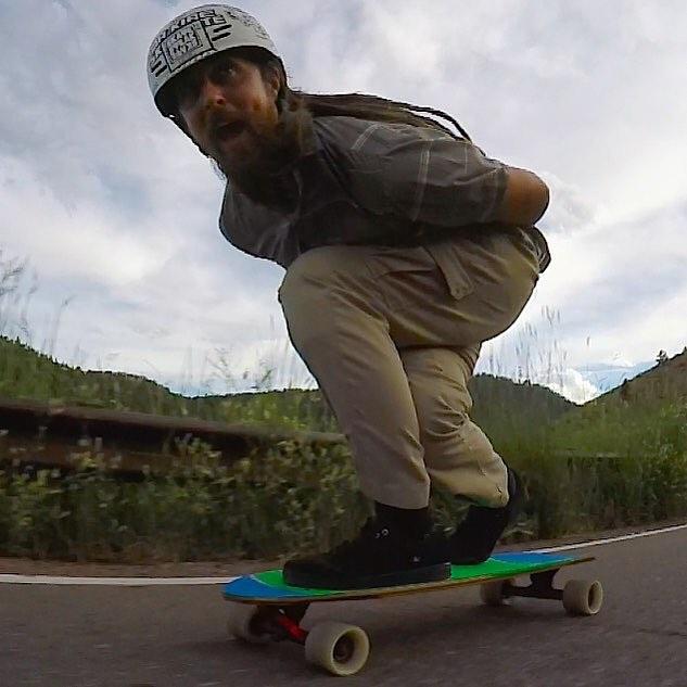 Team rider Adrian Da Kine--@adrian_da_kine is cruising through Colorado and is having a sweet time!