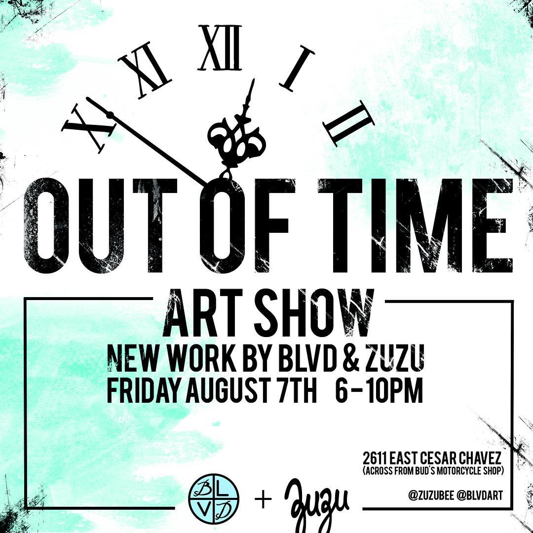 Local art exhibit at the Bad Bear, Good Rabbit Studios in East Austin this Friday 6-10pm. Spratx artists @zuzubee and @blvdart will be showcasing new fine art pieces for one night only. Free entry, all ages welcome. 2611 E. Cesar Chavez St. 78702...