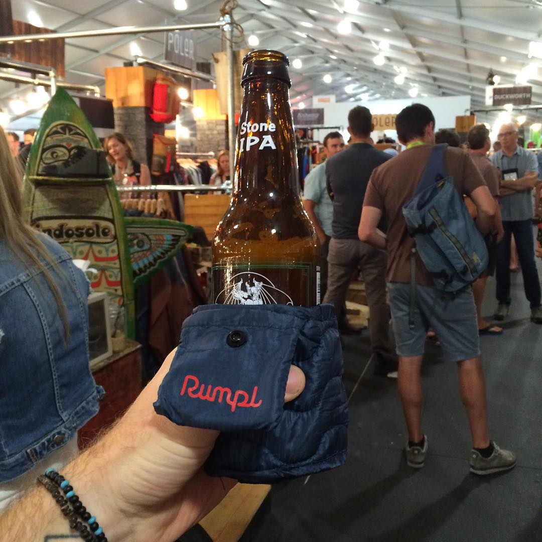 Beer blankets on fleek #gorumpl #beerblanket #ventureout #ORshow
