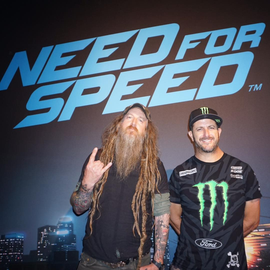 "I'm here in Cologne, Germany today for ""Need For Speed: Icons"" at GamesCom and look who I ran into: one of my Icons co-stars, @MagnusWalker. He and I will be here all day with @NeedForSpeed, if you see us, make sure to say Guten Morgen! #NeedForSpeed..."