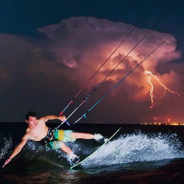 What is life without the risk of a true adventure?  @brian___smith is a rider of the storm. . . Follow us! @flowfold