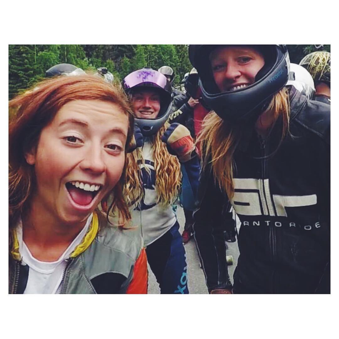 In case you missed it, go to longboardgirlscrew.com and check The Ladies of Lilyhammer in Norway shot by LGC USA ambassador @skatebagels.  Have a great weekend everyone!  #longboardgirlscrew #womensupportingwomen #skatelikeagirl #stoke #girlswhoshred...