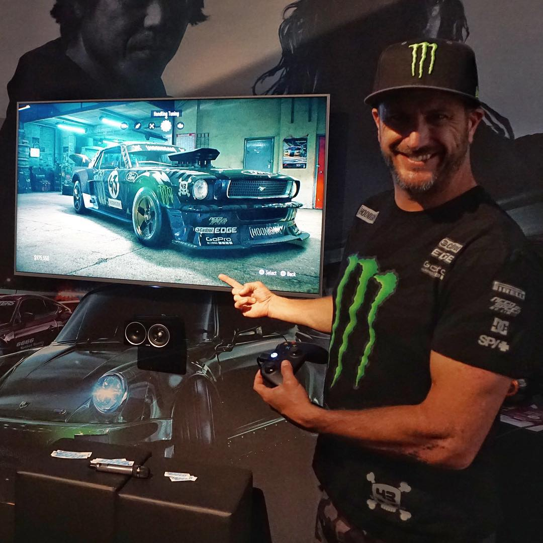 Look what I just found here backstage with @NeedForSpeed here at #GamesCom2015 here in Cologne: my Ford Mustang Hoonicorn RTR IN the game and driveable on this demo... Hmm, should I post some video of it in action? #duhofcourseimgonnapostvideoofitinaction