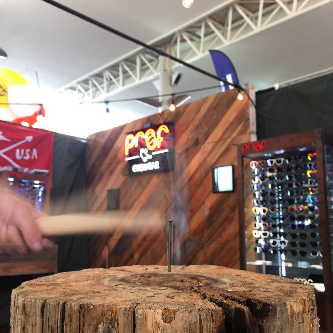 A swing and a miss!  Try for yourself at Booth 27 in the Main Convention Center - we challenge you #ORShow